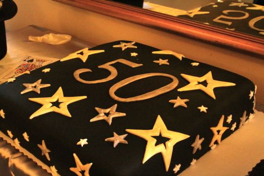 Peachy 50Th Birthday Cake Chateau Gateau Personalised Birthday Cards Sponlily Jamesorg