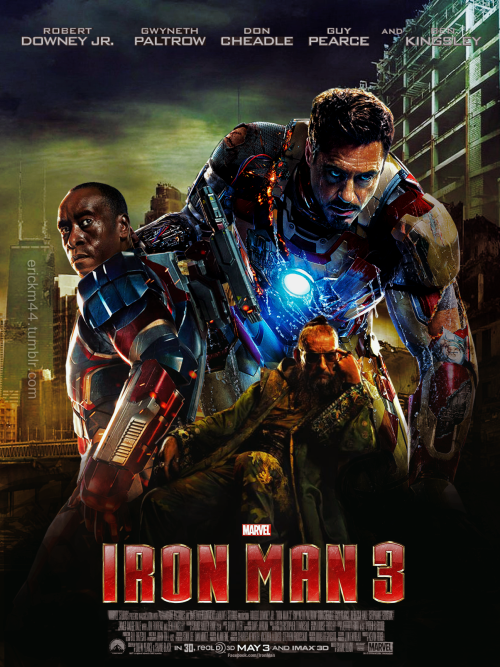 My fan made poster for Iron Man 3