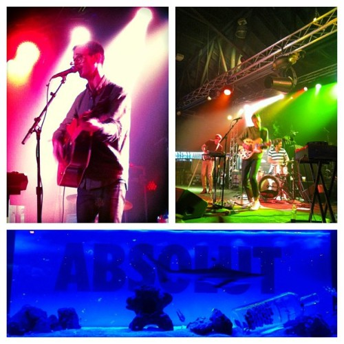 #HELLOGOODBYE with #RELIENTK and #WILLIAMBECKETT! #sharks #absolut  (at The Emporium)