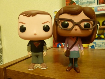 Funko Pop! Shamy  cute! You got the purple cardigan one!
