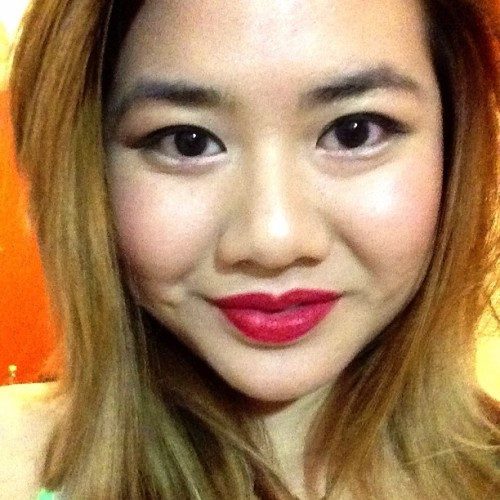Favorite red lipstick MAC Riri Woo - 99.99% same as Ruby Woo! #mac #maccosmetics #lipstick #lipstickaddcict #cosmetic #makeup #me