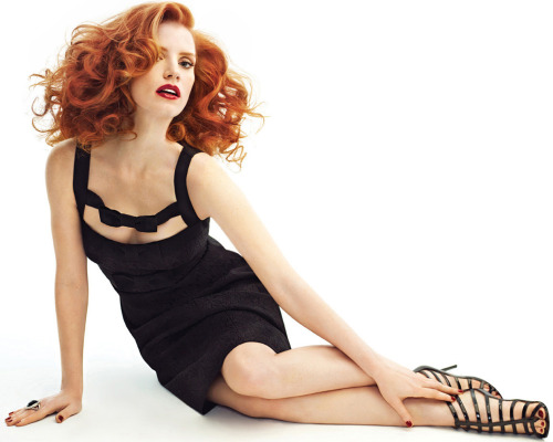 bohemea:  Jessica Chastain by Giuliano Bekor