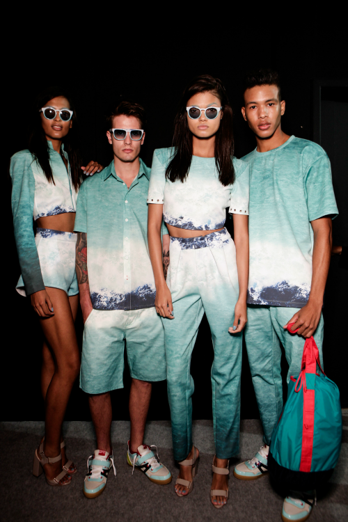 zenadh:  luhlei:   Coca-Cola Clothing Spring/Summer 2014, Rio  lets take amoment of silence to adore the fabbnes of these clothes  damn