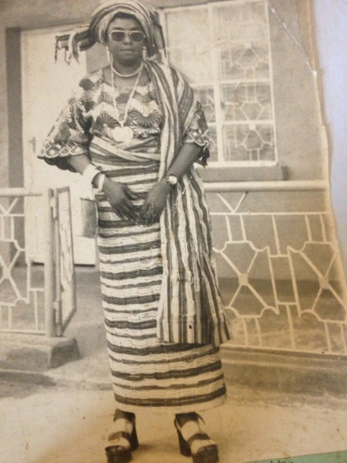 anappyfashionista:  My great Grandmama had swag- those block heels are trending in 2013