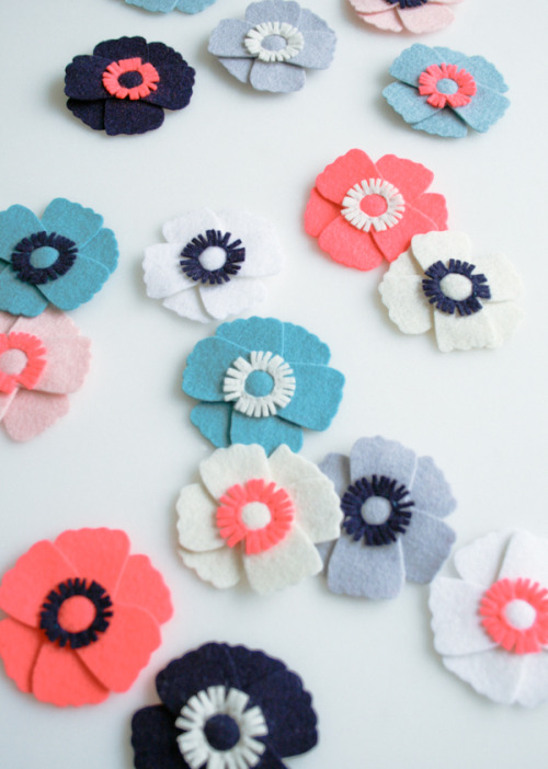 Anemone Magnets - the purl bee
