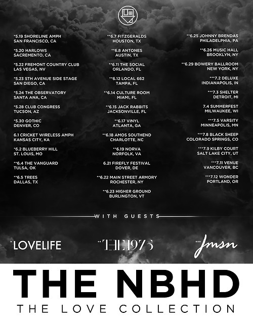 JUST ANNOUNCED: The Neighbourhood (THE NBHD) is coming to The Local 662 in downtown St. Pete on Wednesday, June 12th at The Local 662! Special guests are The 1975!  Tickets go on sale Friday, April 26th and can be purchased by clicking here!