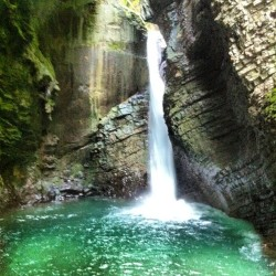 #kozjak #waterfall. #soca #river #slovenia #nofilter #photooftheday #igers #winstagram (at Slap Kozjak)
