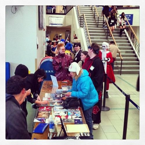 Autographs in Buffalo, NY #ubcon (at UB Student Union)