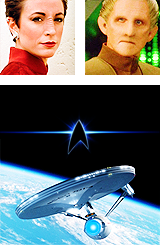 merlinsearsarethetardis:   space…the final frontierthese are the voyages of the starship Enterpriseher continuing mission:to explore strange new worldsto seek out new life and new civilizationsto boldly go where no one has gone before  oh a puppy