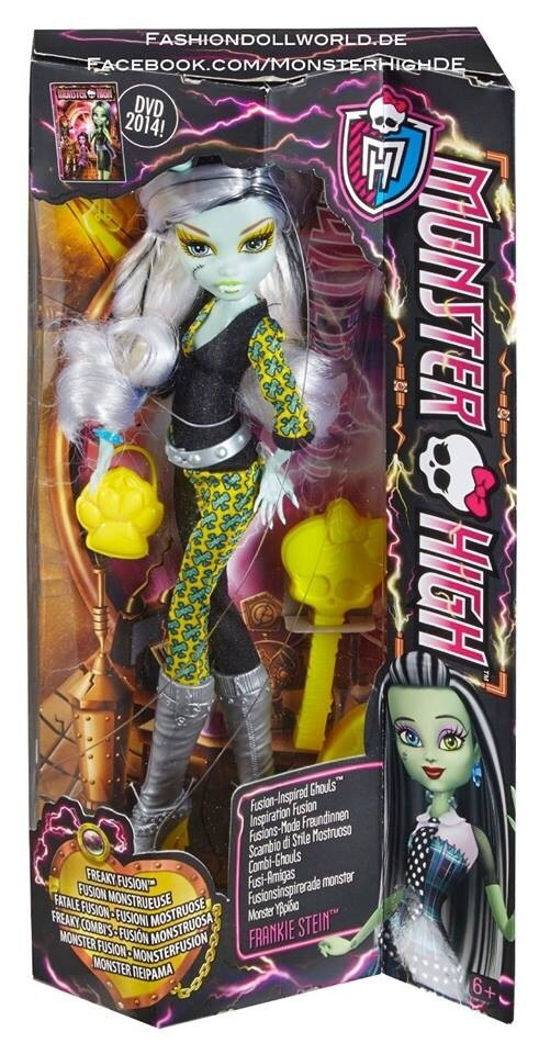 ben170799:  New Freaky Fusion Dolls In CloseUps and in Boxes!!  Pics By FashionDollWorld  Follow Ben170799 For More