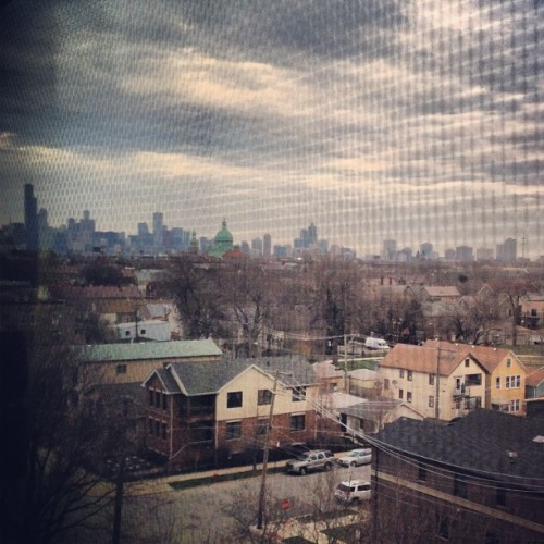 Our Amazing #skyline from The Loft… #chicago  (at Bridgeport Art Center)