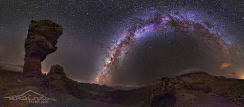 n-a-s-a:  Milky Way and Stone Tree Image Credit & Copyright: Daniel López