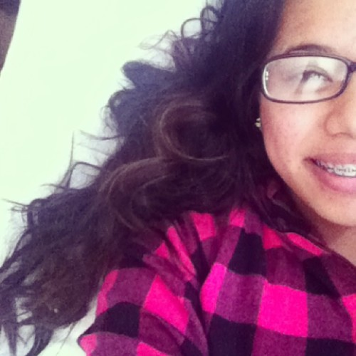 GOOD MORNING IG. ☺☀ #braceface #glasses #morning #hairstillcurly #longhairIDOcare
