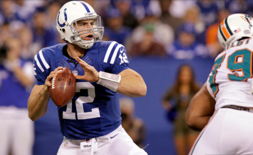 VOTE ANDREW LUCK FOR ROOKIE OF THE YEAR:  The first pick overall in the 2012 NFL Draft, Luck directed the Indianapolis Colts to an 11-5 record, completing a remarkable turnaround in which the Colts had won just two games the season before. Luck amassed a record-breaking 4,374 passing yards topping the previous mark held by Newton (4,051). He also became the first rookie in NFL history with 4,000+ passing yards and ten victories. Luck started all 16 games for the Colts, engineering seven game-winning drives in the fourth quarter or overtime which tied the record for most by a starting quarterback in a single season since at least 1970. His six 300-yard passing games ranks most all-time by a rookie. The former Stanford Cardinal was nominated for Pepsi MAX NFL Rookie of the Week nine times, winning three times.