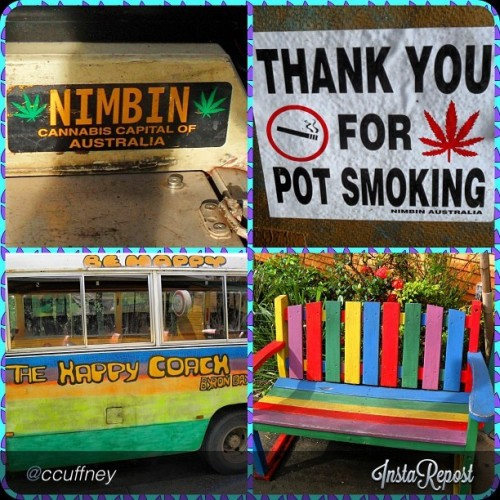 "Where are my #australian #stoners at?! who is ready for #nimbin #mardigrass this year?! #ibudyou wishes we could make it! by @ccuffney ""Had a fun adventurous day to the pot smoking town of Nimbin #nimbin#aust#pot #cannibis #weed#stoner #colorful #rainbow #town#hippieforaday #hippie #high#marijuana #fun"" via @InstaReposts"