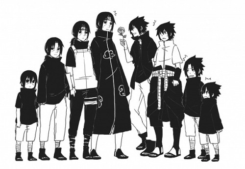 blancorosahola:  Itachi Sasuke - Zerochan on We Heart It - http://weheartit.com/entry/59136198/via/nair_villar_9 Hearted from: http://www.zerochan.net/1477555