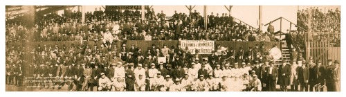 98 Years Ago Today… Opening Game Federal League - Pitt v. KC - April 17, 1915Today is the 98th Anniversary of the opening game for the Pittsburgh Rebels and the Kansas City Packers in the last season of the old Federal League. So here ya' go…