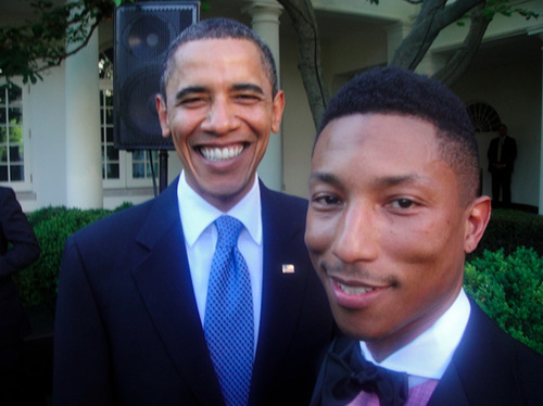Pharrell Obama & Barack Williams