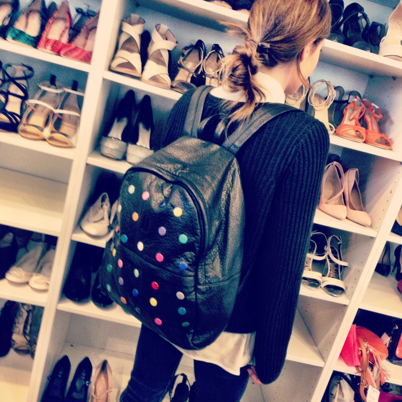 Learn how to create your own polka-dot backpack inspired by The Row x Damien Hirst in our new #DIY with P.S. I Made This!