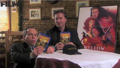 Exclusive Willow clip from the 25th anniversary DVD/Blu-ray Val Kilmer and Warwick Davis are back together for the video, in which they talk us through the Blu-ray's special features in their own inimitable style…