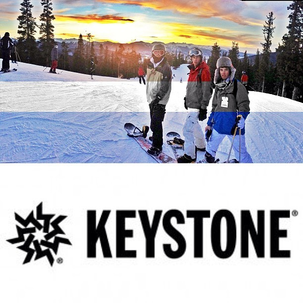 Let the night skiing begin. @keystone_resort @aaronstephenson11 @alex_branson (at Keystone)