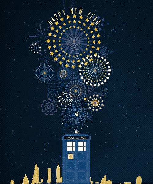 doctorwho:     HAPPY NEW YEAR! ♥    Happy WHO Year!  Happy New Year