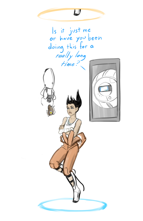 rubitrightintomyeyes:  Happy 2 Year Anniversary, Portal 2!