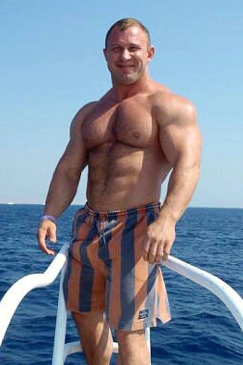 Muscle man Monday.