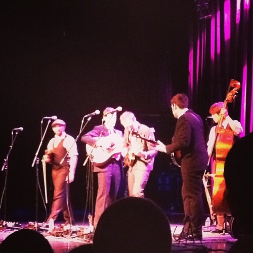 Punch Brothers at #HOBBoston (at House of Blues Boston)