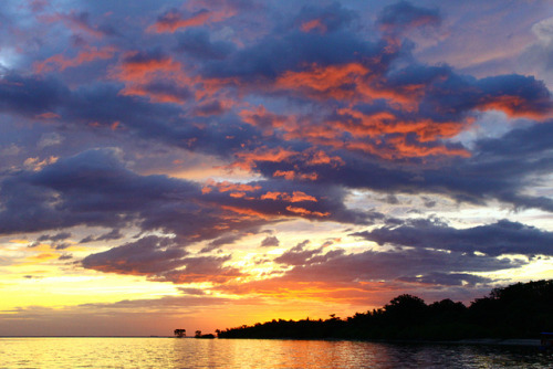 sunset at magalawa island on Flickr.