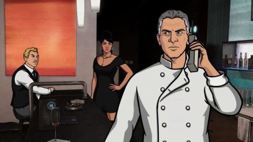 fuckyestonybourdain:  preview of Bourdain on Archer
