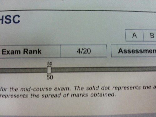 You don't understand how happy I was when I saw this on my report.