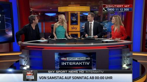 digthismedia:  Saturday night Maik premiered on German sports tv-station Sky Sport News HD.