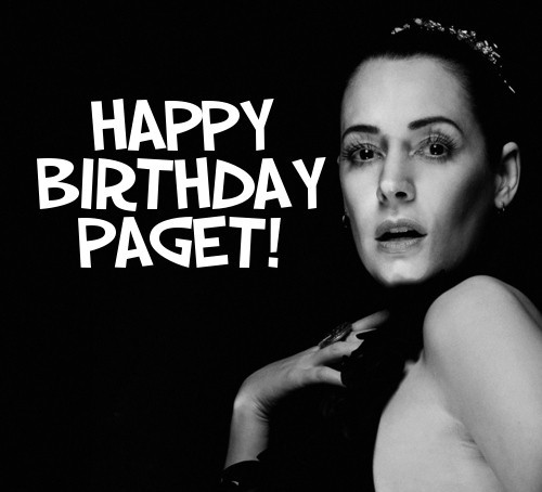 @pagetpaget HAPPY BIRTHDAY, PAGET <3 :). To one of my idols & inspirations in life. I just want to THANK YOU SO MUCH for everything. You are such a joy. You always bring a smile to my face w/ your craziness. Plus, something that I will never be able to thank you for enough is for making the way for me to meet many, many new friends from all over the world. We were brought together for our love & admiration for your talents. It's definitely one of the best things that has ever happened in my life and I am truly grateful. So, on your special day, I can only wish you the best in life and continued happiness and success. As I mentioned earlier, you never fail to put a big goofy grin on my face, so I hope on this day a smile will grace your beautiful face and stay there forever! <3 :D. Have a spectacular day, Ms. P! Love you to pieces <33333. Can`t wait to see & meet you in May! :). Take care. Party, party *clink* - Love,  Giselle (aka @ssa_gchan)  —————- - creds to @allanamato for the pic / edited writing by me -