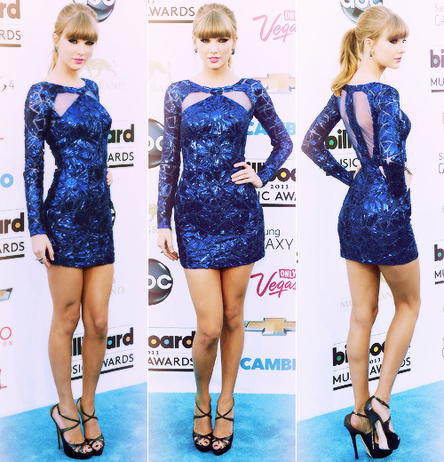 Taylor Swift at the Billboard Music Awards 2013.