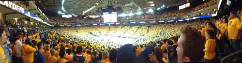 yesterday was amazing. go warriors.