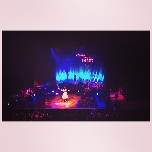 Marina and the Diamonds concert at @thepageantstl :) so amazing!  (at The Pageant)