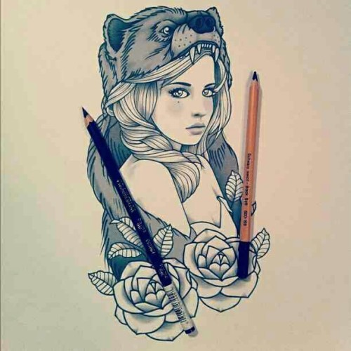 I found this drawing too. So #beautiful