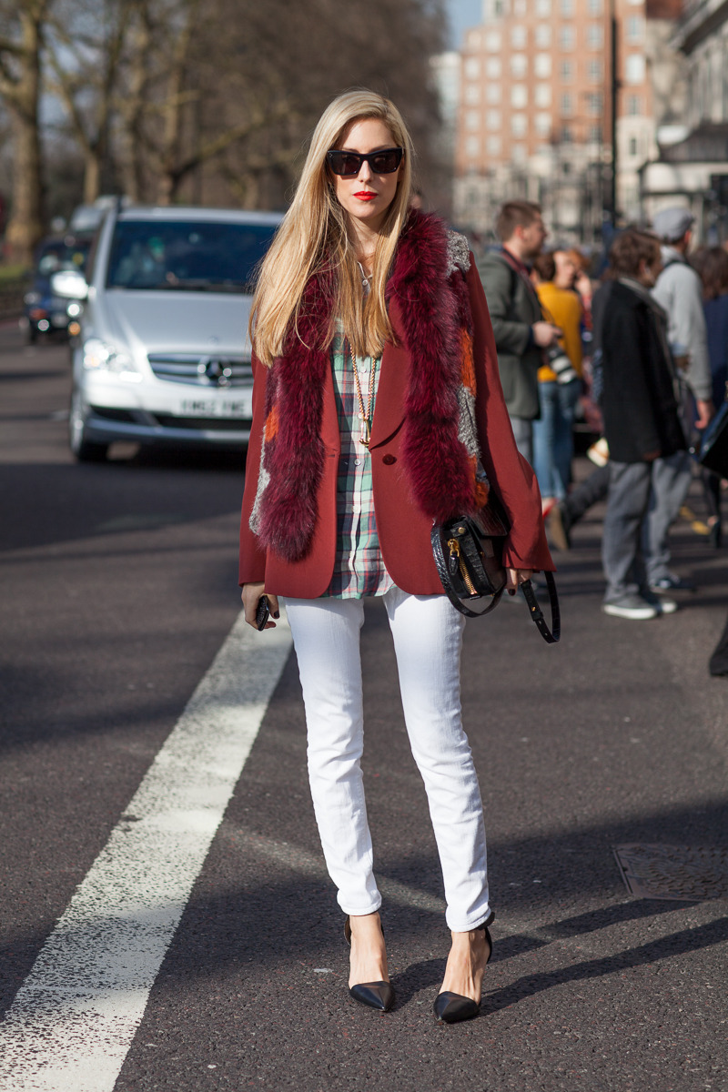 Chic on the Streets of London Photo credit: Diego Zuko