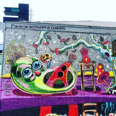 #streetartist, #streetart, #mural, #art, #royalsnappingartists, #urbanart, #rsa_streetview, #la, #igersla, #arte, #rsa_preciousjunk, #melrose, #hollywood, #tv_streetart, #losa