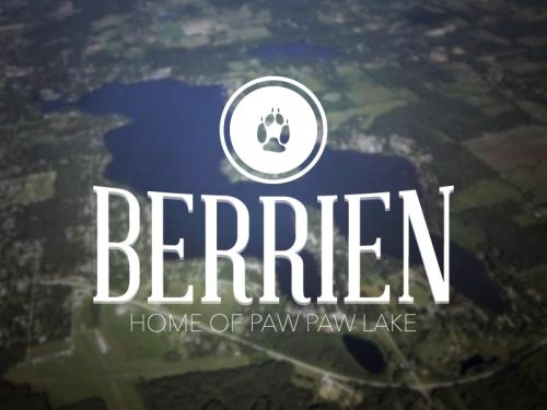 Sitting in the furthest SW corner of Michigan, Berrien County is home to Paw Paw Lake and the St. Joseph river. 11/83