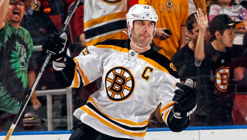 Captain Zee Always Above the Fray SUNRISE, FL - Captain Zdeno Chara, standing at 6-foot-9, doesn't always score goals. As the Bruins' top defender, he prides himself on shutting down the opposing team's scoring abilities. But when Big Zee scores, like with Sunday's highlight reel top-shelf backhander in Sunrise - wow, does he make it count.  And count it did, as the game-winner en route to a 4-1 win over the Florida Panthers at the BB&T Center. Read the full feature on Chara here: http://bruins.nhl.com/club/news.htm?id=657227-Caryn Switaj ^CS
