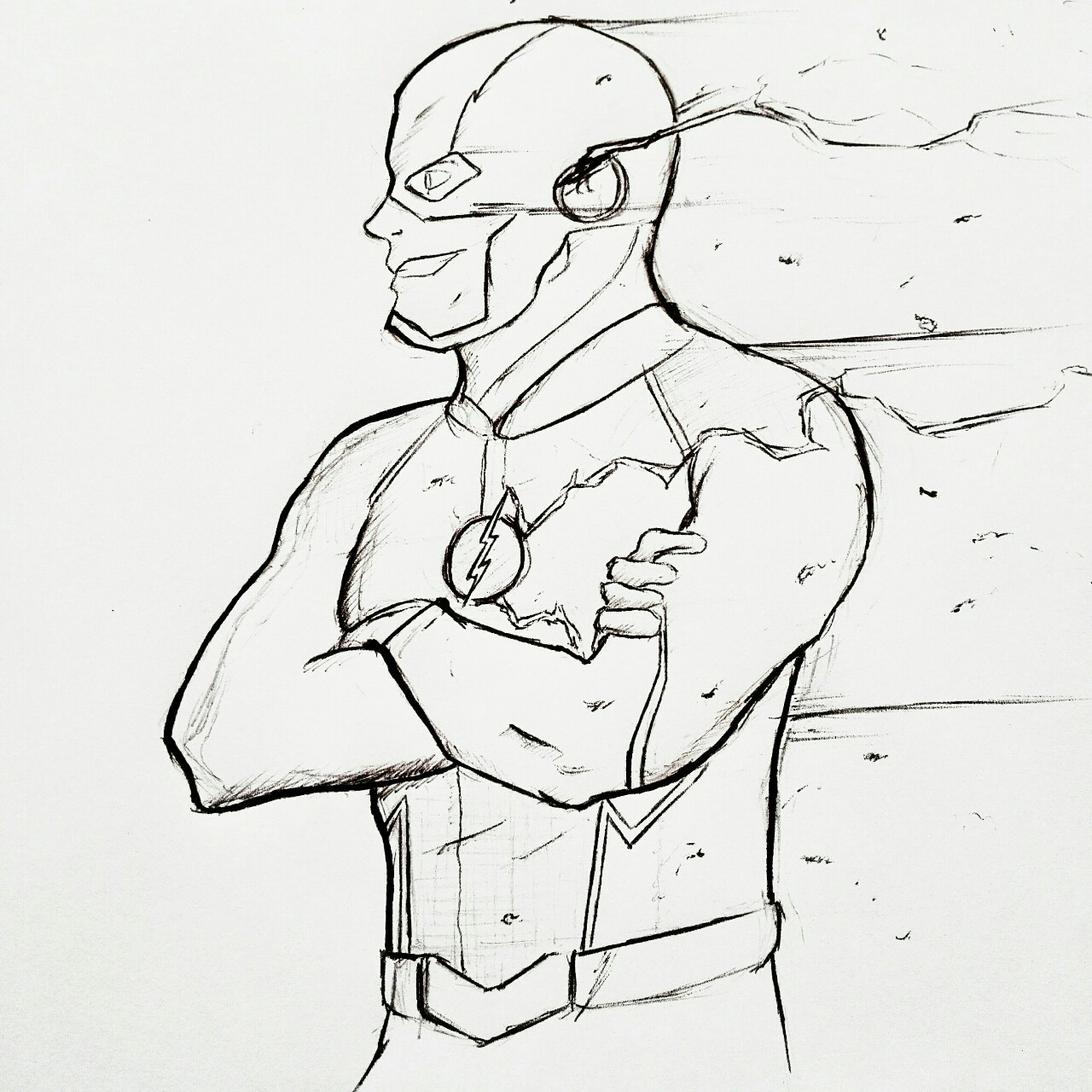 The Flash Fan Art Aaron10th The Flash Cw Request Your