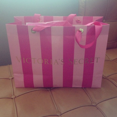 Went shopping…bought too much! #underwear #pink #victoria'ssecret