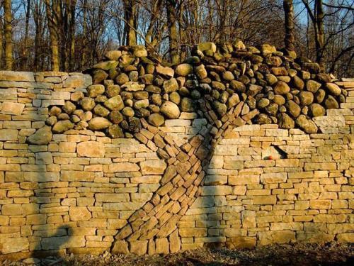 tree art stone stone work photography