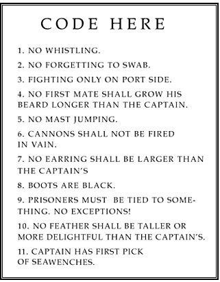 """ Captain's Rules """