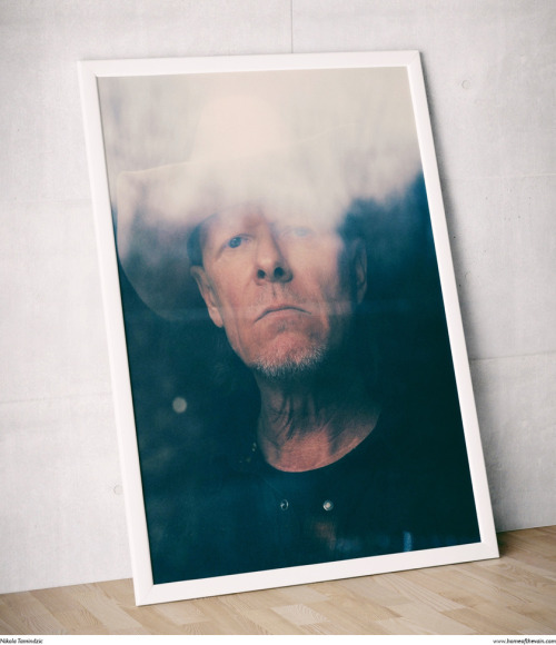 Nikola Tamindzic, Michael Gira, 2013 (print) Framed print of a portrait I made of Michael Gira of Swans for The New Yorker, on the last day of February. More of my work at Home of the Vain.