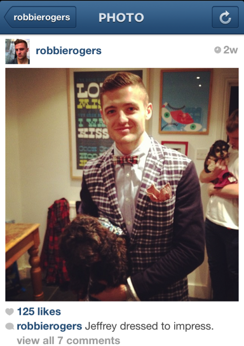 This fine specimen, pro soccer player Robbie Rogers, came out as gay today. We have some thoughts here.