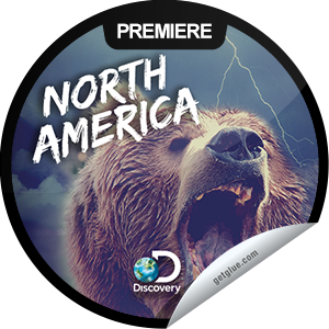 I just unlocked the North America: Born to Be Wild sticker on GetGlue                      1828 others have also unlocked the North America: Born to Be Wild sticker on GetGlue.com                  Wolves, whales, lions and bears are observed in the opener of this series exploring North American wilderness. Share this one proudly. It's from our friends at Discovery.