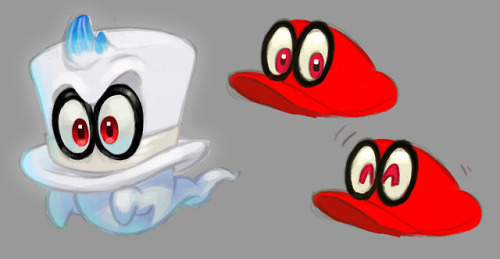 Nintendo Nintendo Switch Super Mario Odyssey Cappy Concept Art